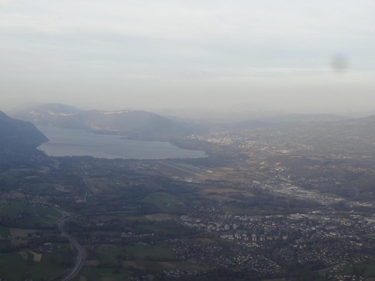 Vol de fin d'après-midi vers Annecy Annecy_02m