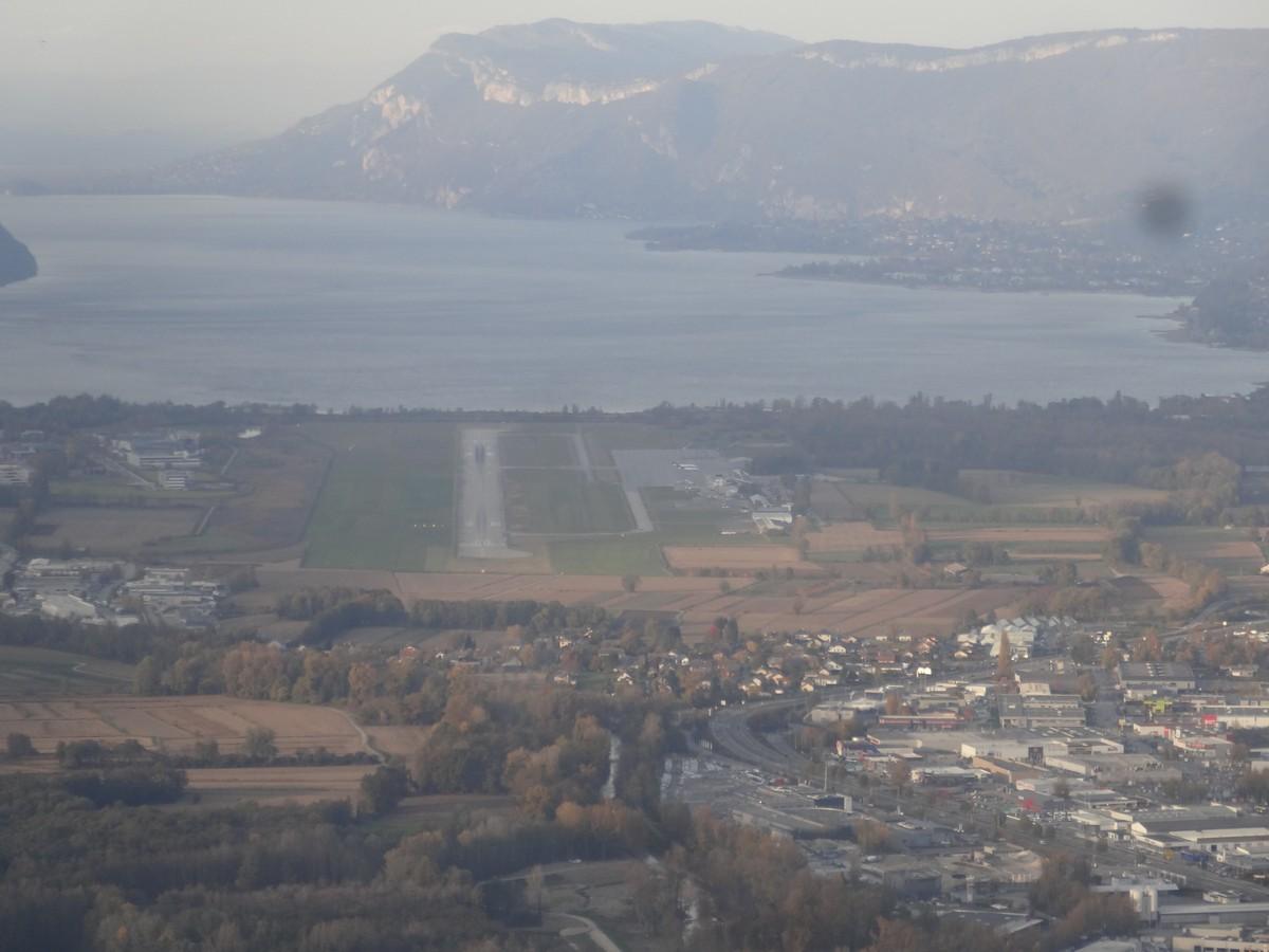 Vol de fin d'après-midi vers Annecy Annecy_03m