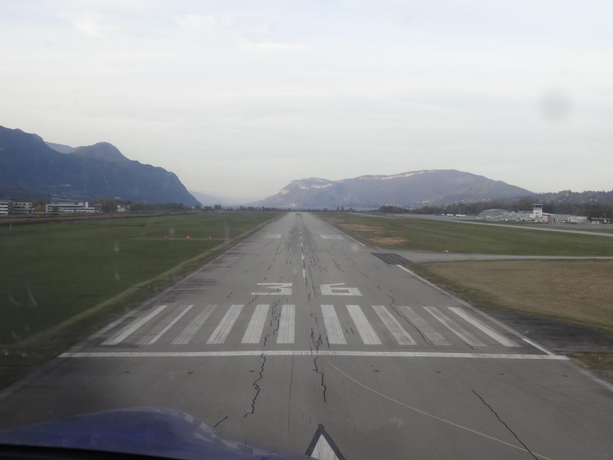 Vol de fin d'après-midi vers Annecy Annecy_04m