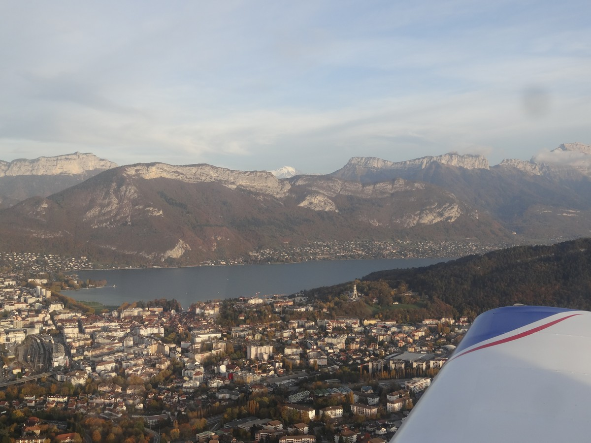 Vol de fin d'après-midi vers Annecy Annecy_06m