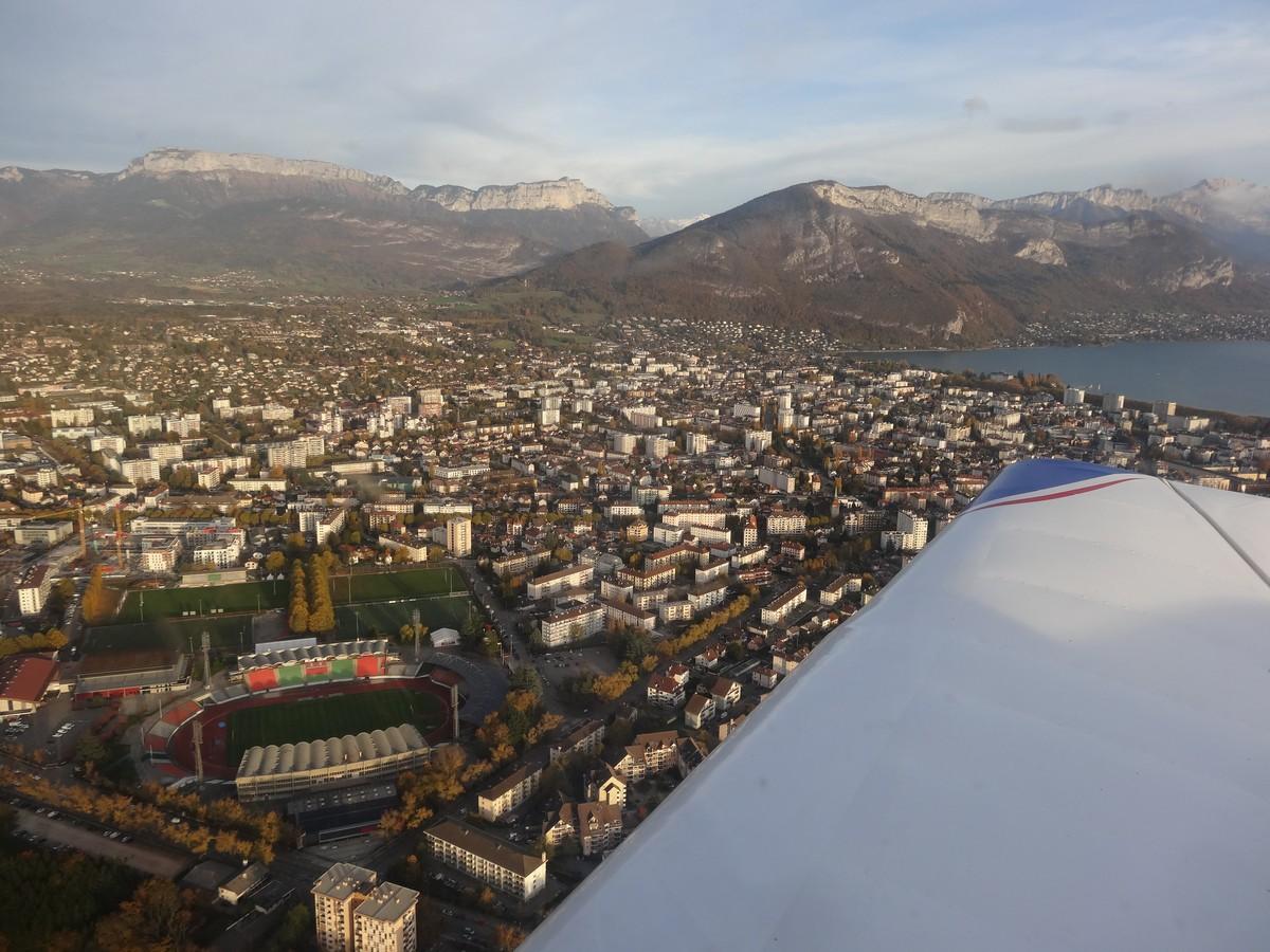 Vol de fin d'après-midi vers Annecy Annecy_07m
