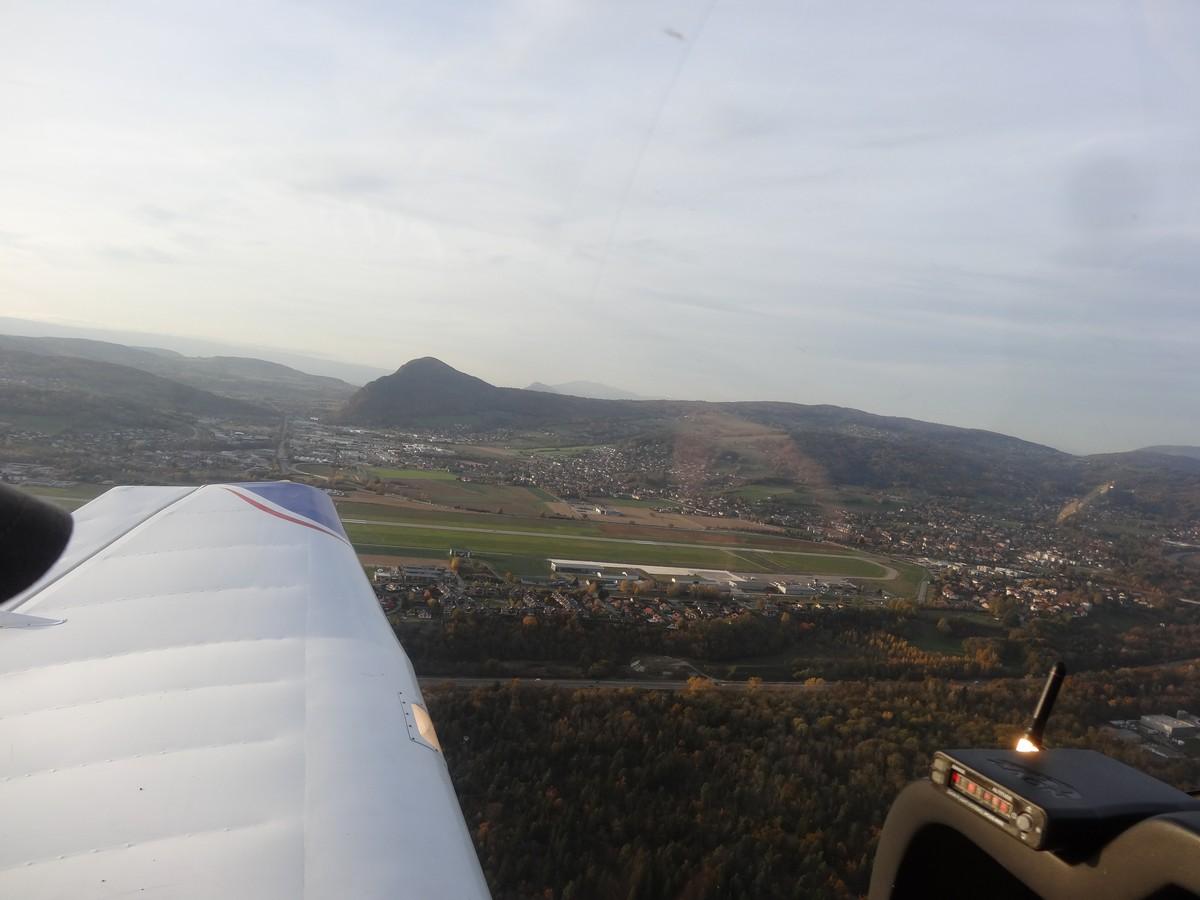 Vol de fin d'après-midi vers Annecy Annecy_08m