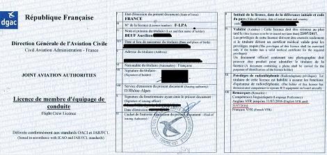 Licence m