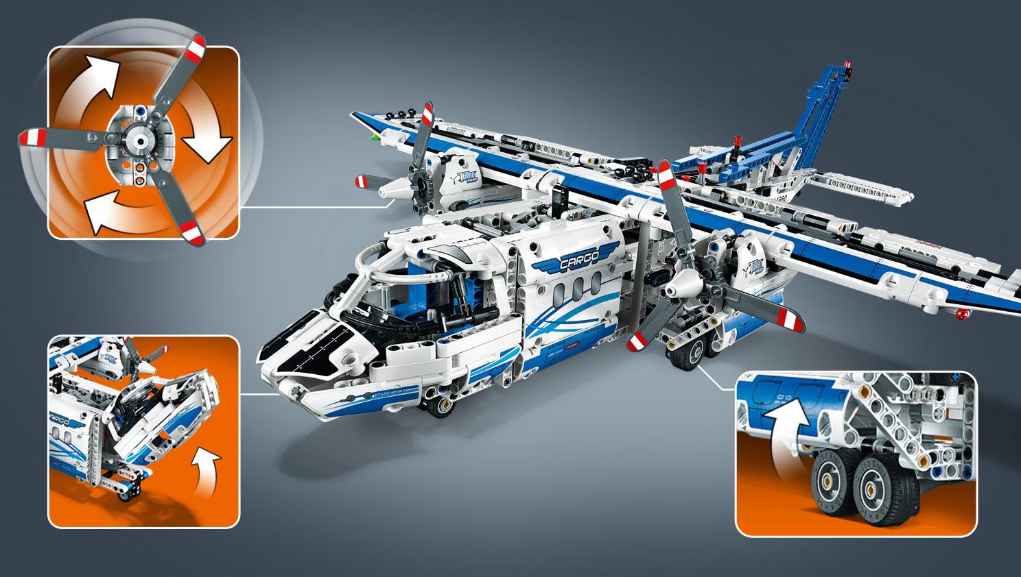 Lego Technic 42025 : l'avion cargo 42025_Additional-Image_03